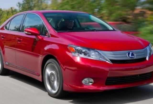 Recall Lexus: 17.000 de autoturisme Lexus HS 250h rechemate, vanzarile oprite