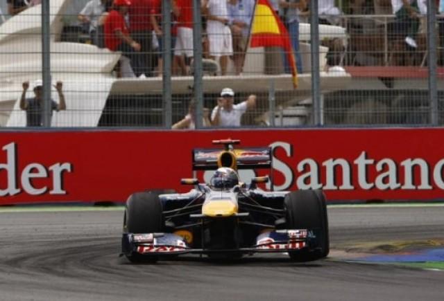 Vettel a castigat MP al Europei disputat la Valencia