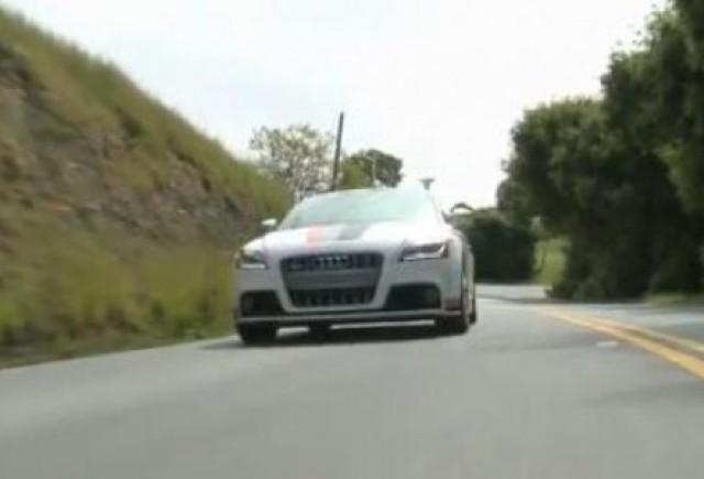 VIDEO: Autonomous Audi TTS, masina care merge singura
