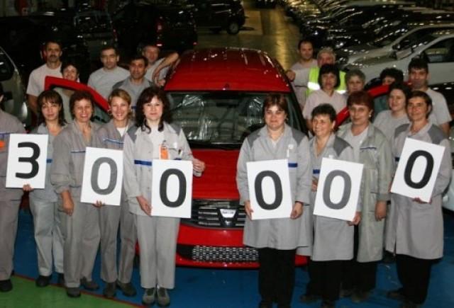 Dacia a produs 300.000 unitati Logan MCV