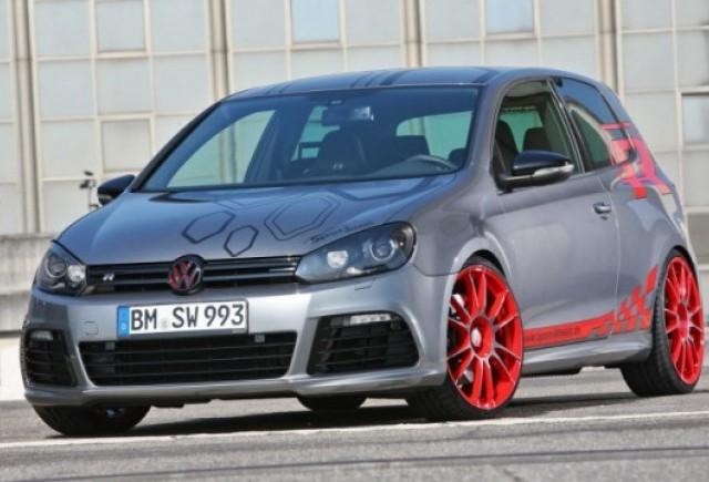 Sport Wheels a tunat modelul Volkswagen Golf R