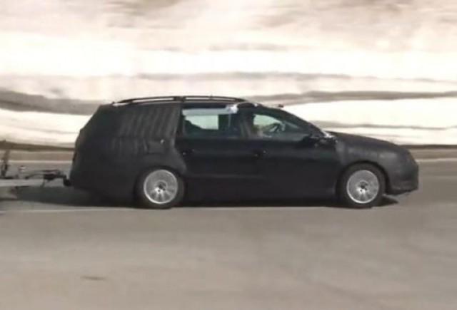 VIDEO: Noul Volkswagen Passat spionat