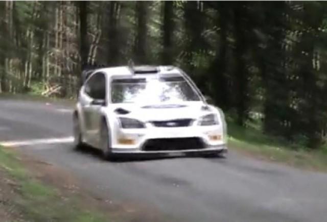 VIDEO: Mikko Hirvonen surprins in Franta la teste pentru Raliul Bulgariei