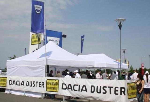 Dacia Duster Offroad Experience a luat startul la Bucuresti