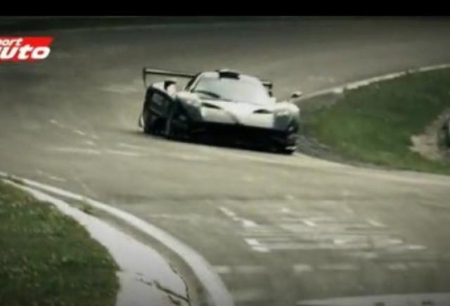 VIDEO: Pagani Zonda R stabileste un nou record la Nurburgring