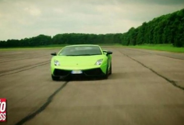 VIDEO: Lamborghini LP570-4 Superleggera vs Aprilia RSV4