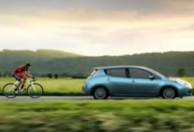 VIDEO: Lance Armstrong promoveaza Nissan Leaf