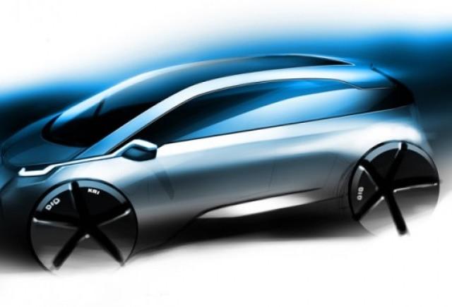 BMW prezinta primul teaser pentru noul Megacity EV