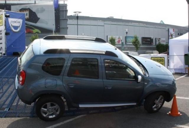 Peste 1000 de drive-teste la Dacia Duster Offroad Experience