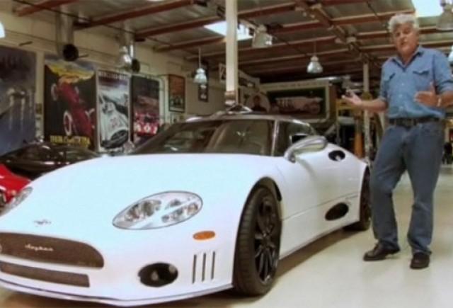 VIDEO: Jay Leno testeaza modelul Spyker C8 Laviolette