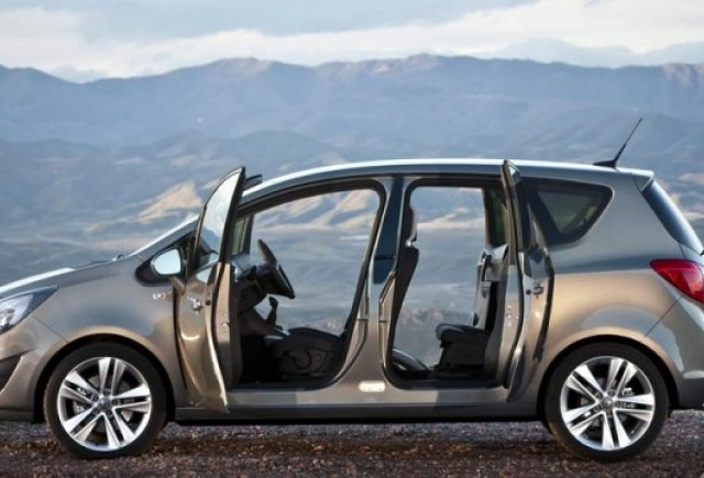 Noul Opel Meriva, in Romania de la 13.745 euro cu TVA