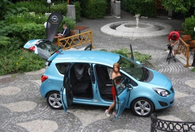 Galerie Foto: Lansarea noului Opel Meriva in Romania