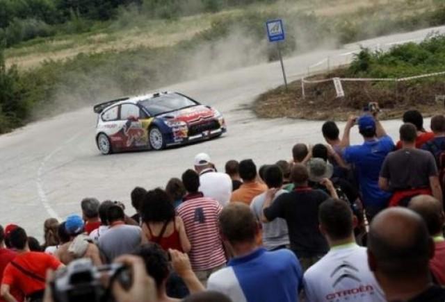 WRC: Sebastien Loeb a castigat Raliul Bulgariei!