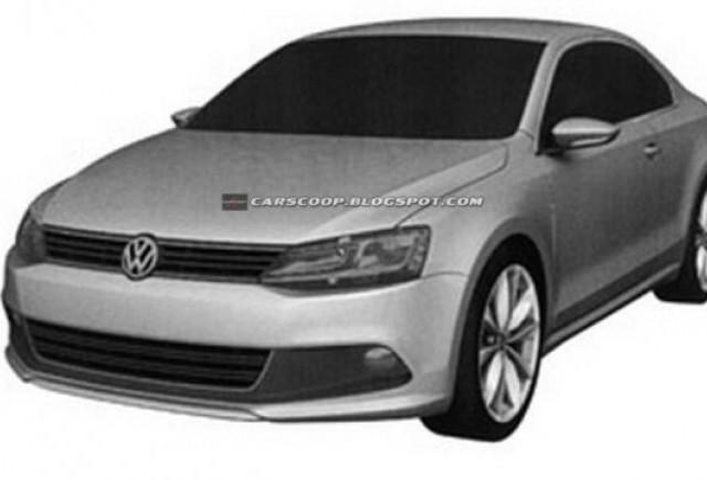 Volkswagen a patentat design-ul noului Jetta Coupe