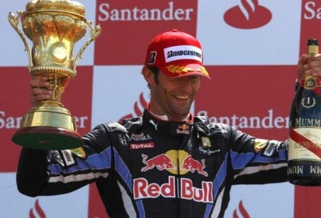 Webber a castigat la Silverstone