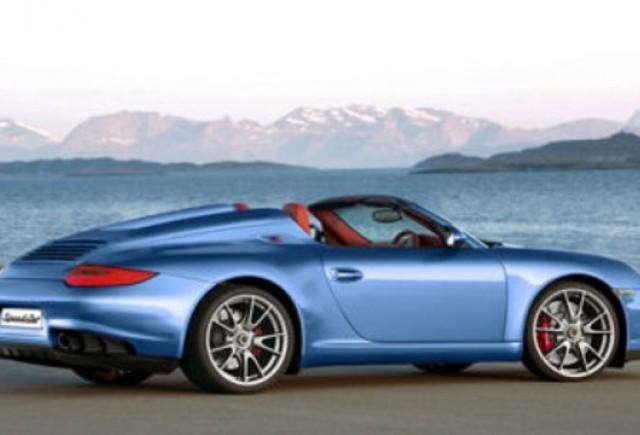 ZVON: Porsche pregateste un model 911 Speedster