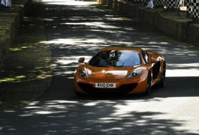 McLaren MP4-12C a inregistrat 2.700 de comenzi