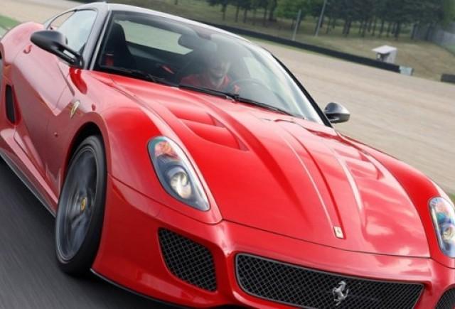 GALERIE FOTO: Noi imagini cu modelul Ferrari 599 GTO