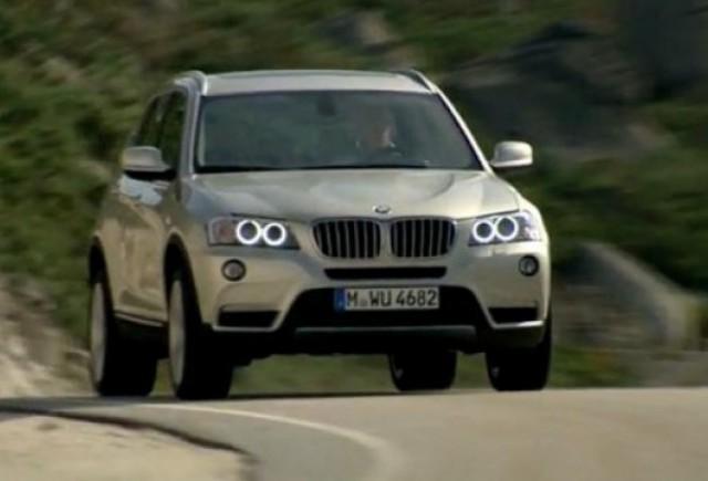 VIDEO: Noul BMW X3 in actiune