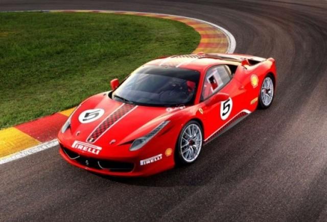 OFICIAL: Iata noul Ferrari 458 Challenge!