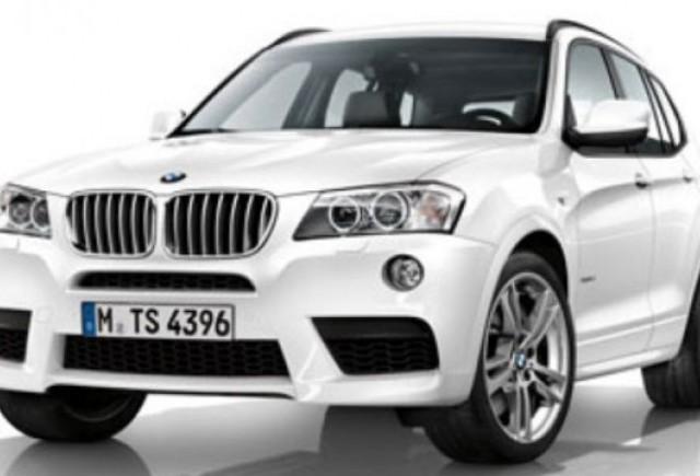 Iata noul BMW X3 M Sport Package!