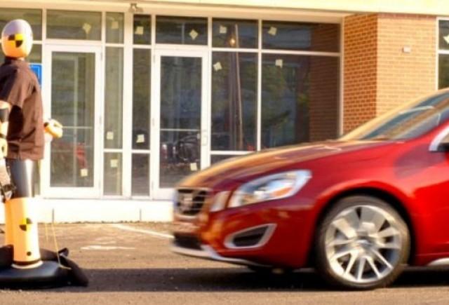 VIDEO: Volvo prezinta noul S60 cu sistemul de detectare a pietonilor