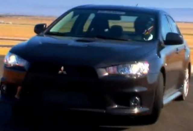 VIDEO: Noul Mitsubishi Evolution X SE in actiune
