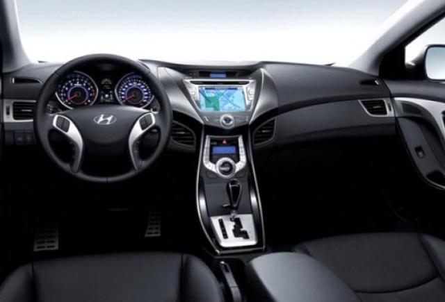 Iata prima imagine cu interiorul noului Hyundai Elantra!