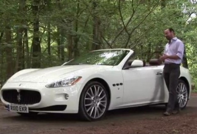 VIDEO: Autocar testeaza modelul Maserati GranCabrio