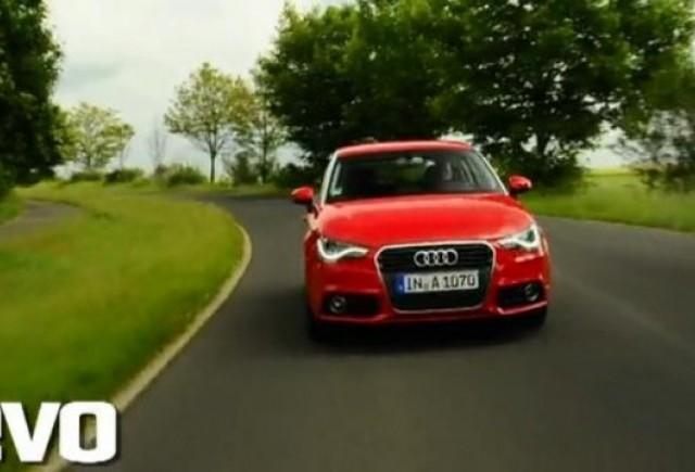 VIDEO: modelul Audi A1 testat de jurnalistii de la EVO