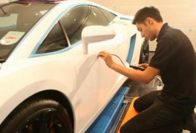 VIDEO: Cea mai scumpa spalatorie auto din lume