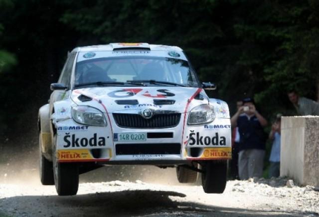 Skoda Fabia S2000 la Raliul Sibiului 2010