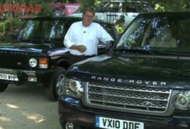 VIDEO: Vechi vs nou: Range Rover vs Range Rover
