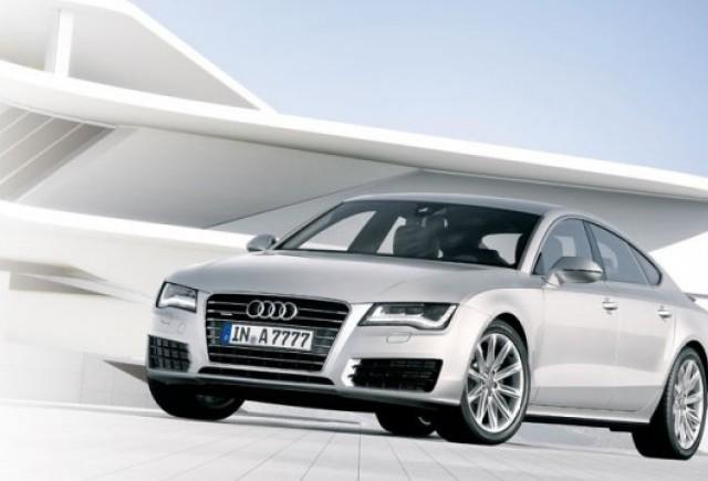 Iata primele imagini cu noul Audi A7 Sportback!