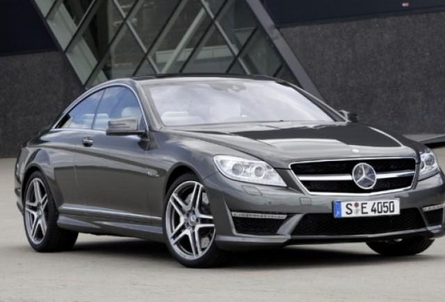 GALERIE FOTO: Noul Mercedes CL63 si CL65 AMG