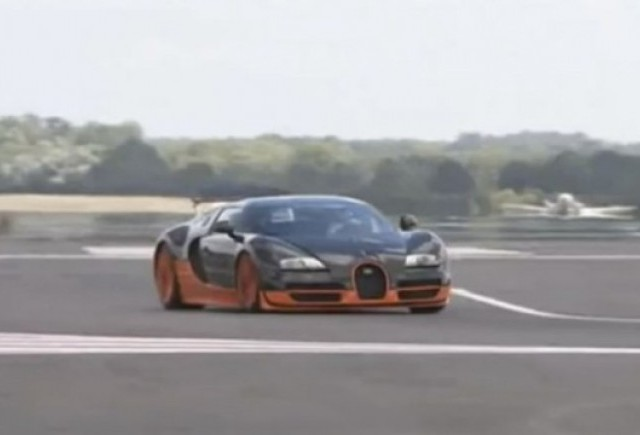 VIDEO: Top Gear testeaza noul Bugatti Veyron Super Sport