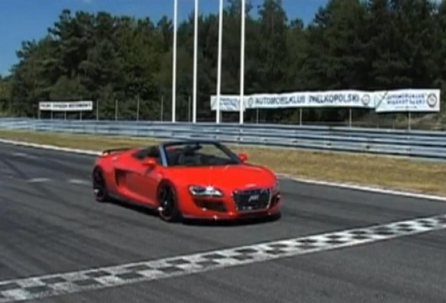 VIDEO: Audi R8 Spyder V10 tunat de ABT
