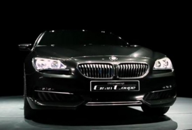 VIDEO: Conceptul BMW Gran Coupe prezentat in detaliu