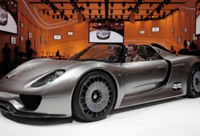 OFICIAL: Conceptul Porsche 918 Spyder va fi produs in serie