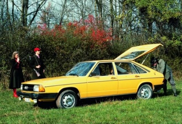 Noul Audi A7 Sportback are un predecesor din 1977