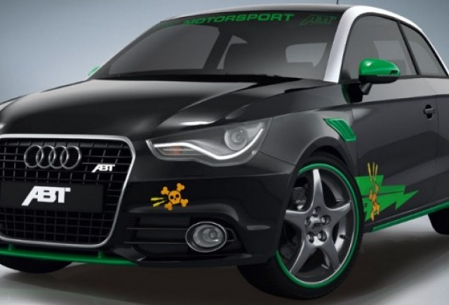 Audi A1 tunat de ABT