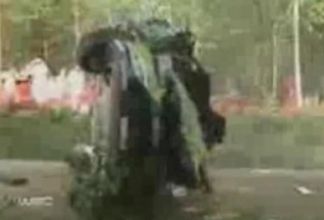 VIDEO: Accidentul lui Hirvonen din Raliul Finlandei