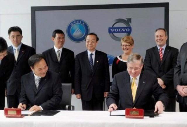 Achizitia Volvo de catre chinezi a fost incheiata