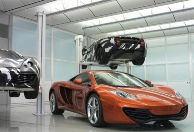 McLaren se imprumuta cu 50 milioane de euro pentru o noua fabrica