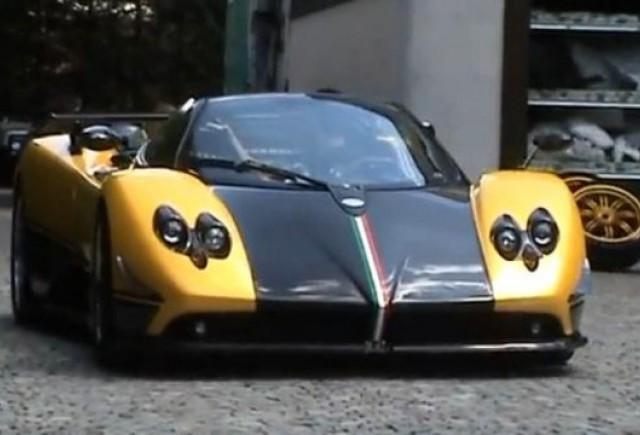 VIDEO: Singurul Pagani Zonda Cinque Roadster personalizat