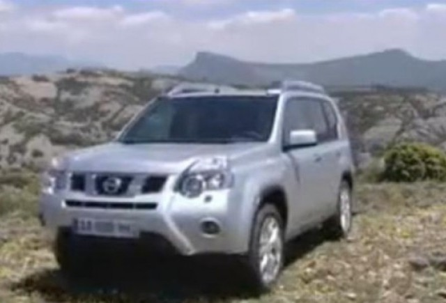 VIDEO: Noul Nissan X-Trail facelift in actiune