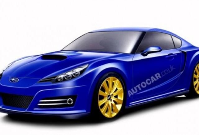 Subaru lucreaza la dezvoltarea noului coupe