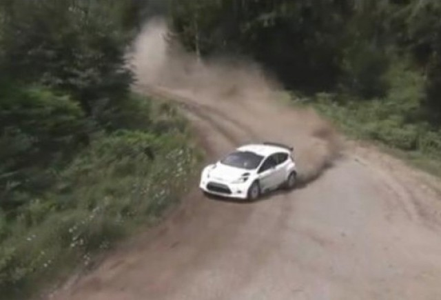 VIDEO: Noul Ford Fiesta RS WRC in actiune