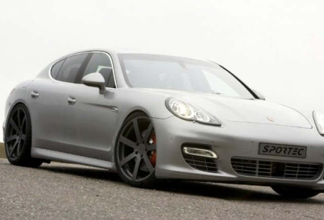 Porsche Panamera Turbo tunat de Sportec