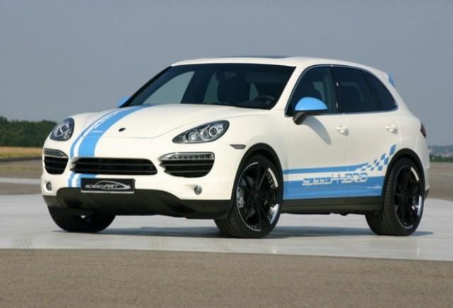 SpeedART imbunatateste noul Porsche Cayenne hibrid